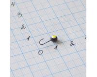 Мормышка 0,3 гр, d 3,0 мм Шар с люминофором, черный