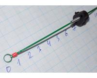 Сторожок универсальный 120 мм, тест 0,2-0,8 гр, Часовая пружина, зеленый