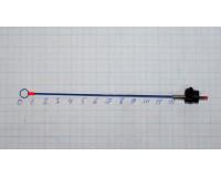 Сторожок универсальный 120 мм, тест 0,2-0,8 гр, Часовая пружина, синий