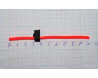 Сторожок ниппельный 100 mm красный флюор. №1, 0,5-3,0 гр